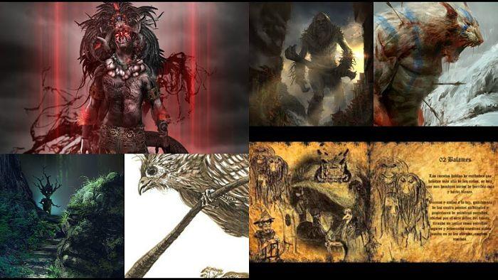 Criaturas Mitológicas Mayas